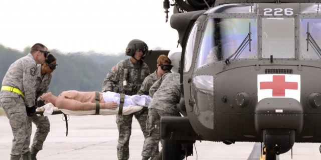Aeromedical Evacuation Simulation Training