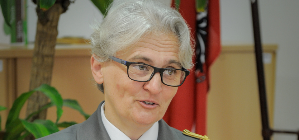 Interview with Brigadier Sylvia – Carolina Sperandio, Head of the Military Health Department in Austria
