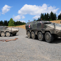 Armoured casualty transport