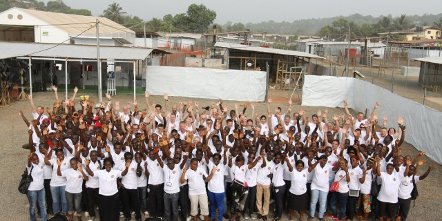 Ebola   – Humanitarian Mission to West Africa in Cooperation with the German Red Cross