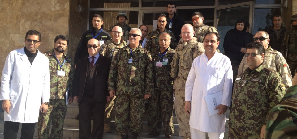 Rebuilding postgraduate medical education programs in Afghanistan